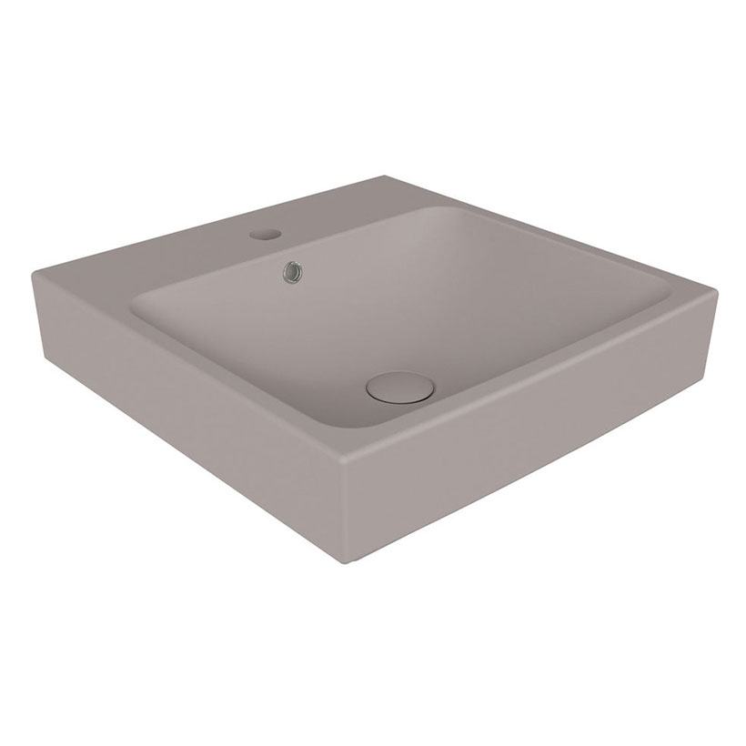 Lavabo Suspendido Smart Gris Mate