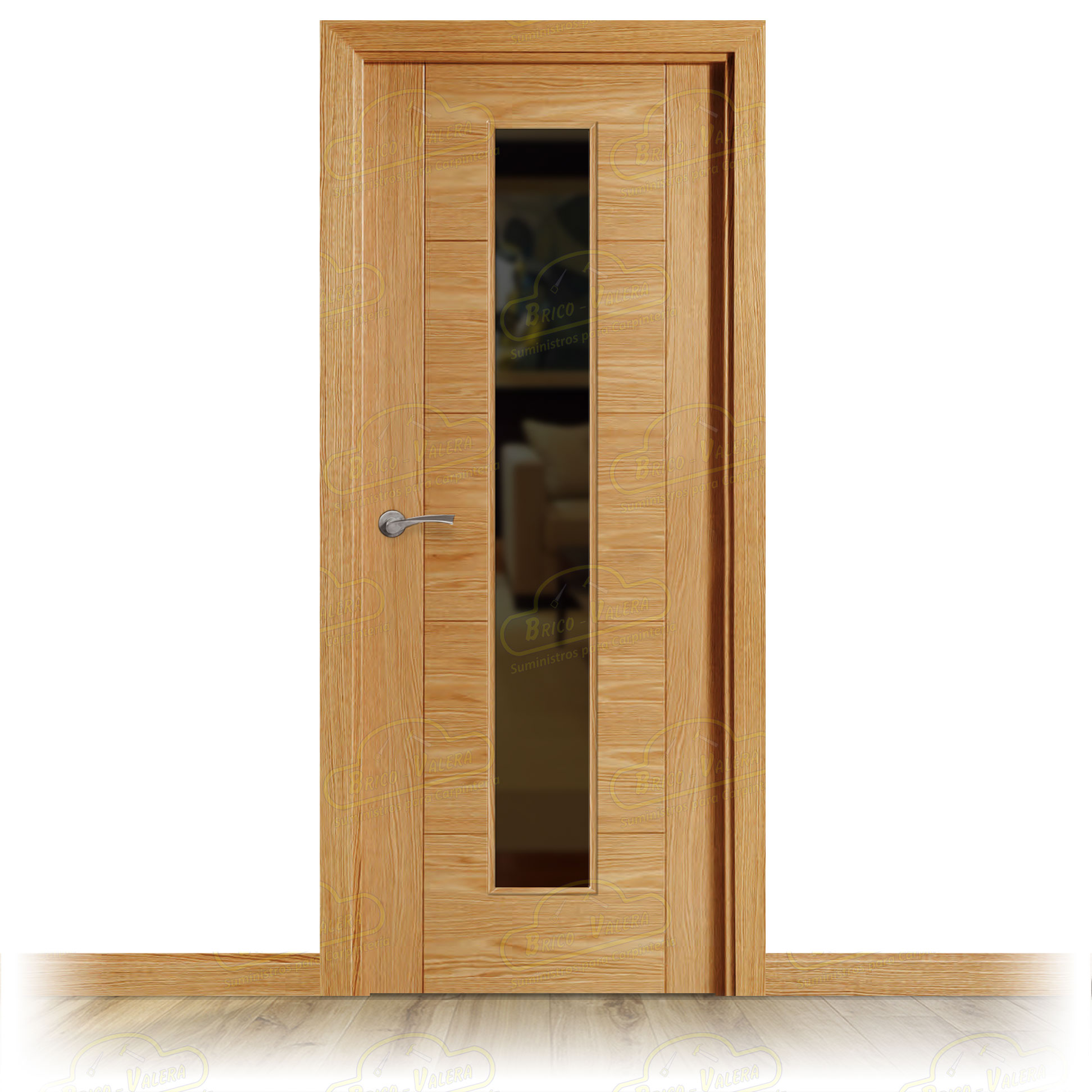 Puerta Block Interior VP5 V1C Roble