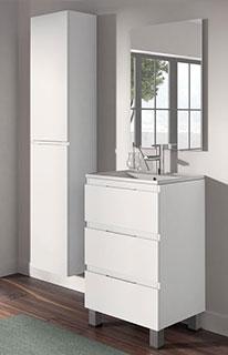 Conjunto de Mueble de Baño Viena 50 Blanco