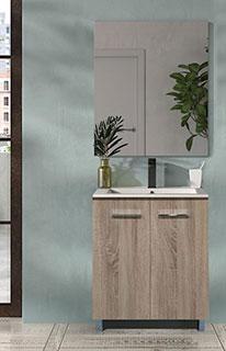 Conjunto de Mueble de Baño Smart 60 Cambrian