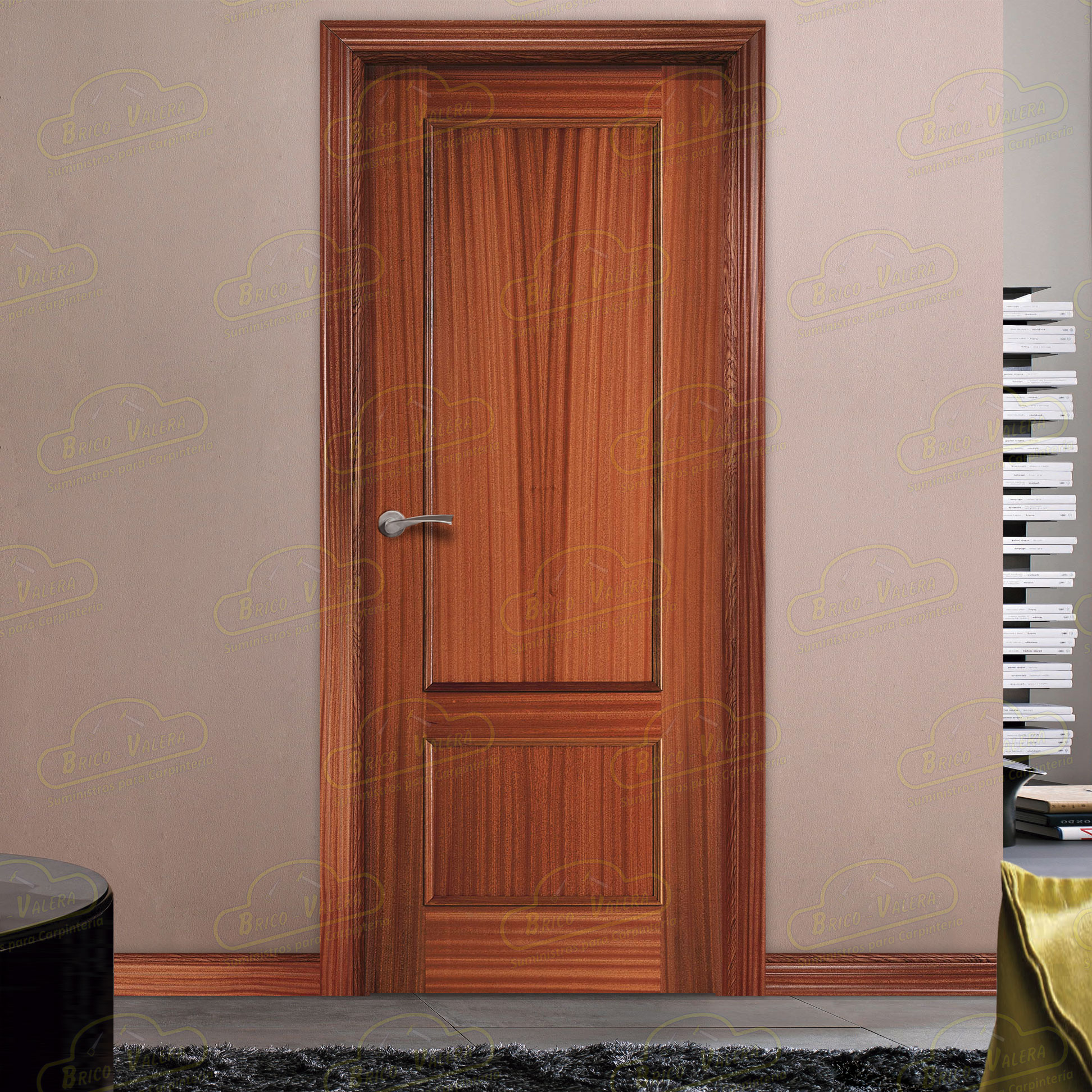 Puerta Block Interior 120-Sapelly