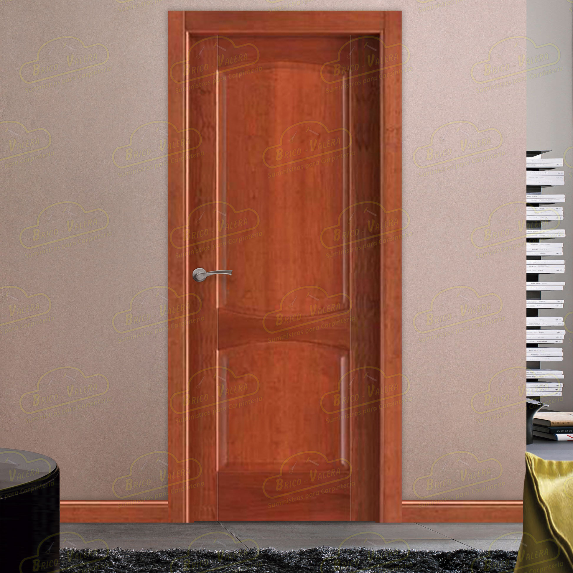 Puerta Block Interior PM-1054 Cerezo